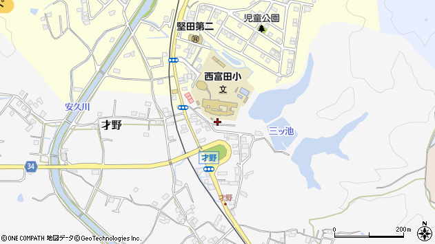 和歌山県西牟婁郡白浜町才野65-2周辺の地図
