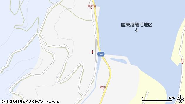 大分県国東市国見町小熊毛2711周辺の地図