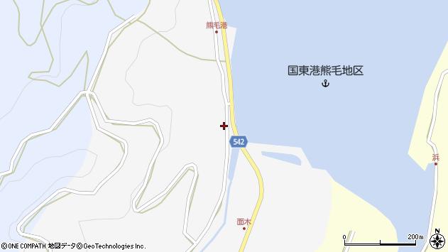 大分県国東市国見町小熊毛2715周辺の地図