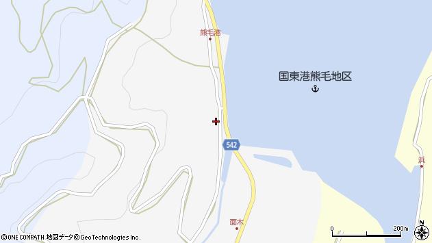 大分県国東市国見町小熊毛2716周辺の地図