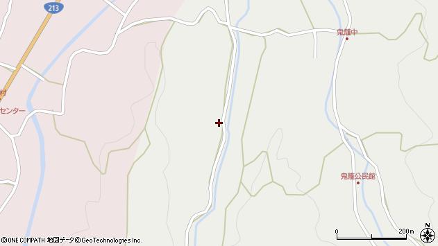 大分県国東市国見町鬼籠106周辺の地図