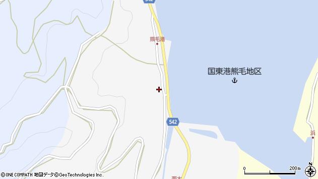 大分県国東市国見町小熊毛2722周辺の地図