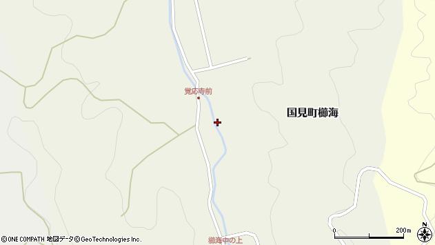 大分県国東市国見町櫛海718周辺の地図