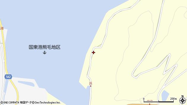 大分県国東市国見町大熊毛2213周辺の地図