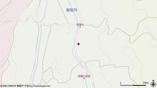 大分県国東市国見町鬼籠鬼神台周辺の地図