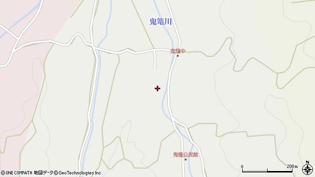 大分県国東市国見町鬼籠534周辺の地図