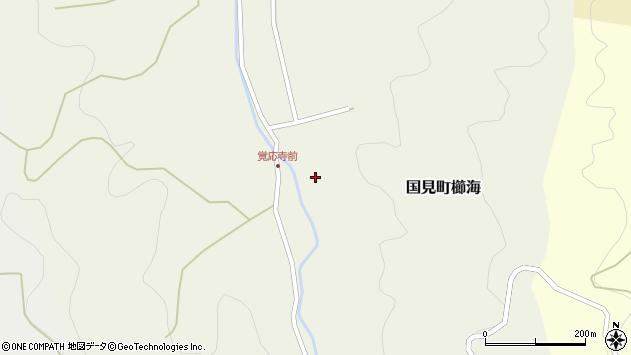 大分県国東市国見町櫛海679周辺の地図