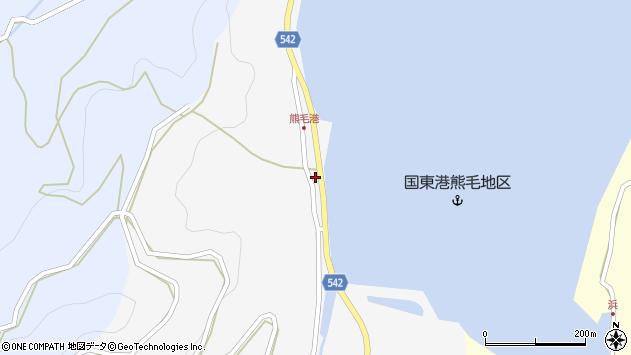 大分県国東市国見町小熊毛2730周辺の地図
