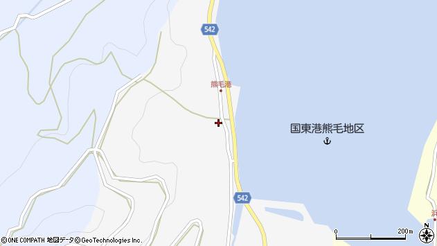 大分県国東市国見町小熊毛2732周辺の地図