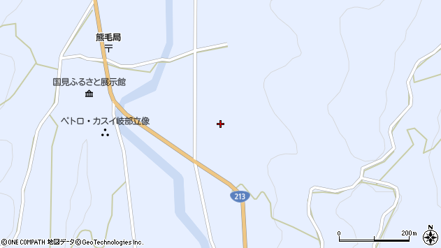 大分県国東市国見町岐部1718周辺の地図