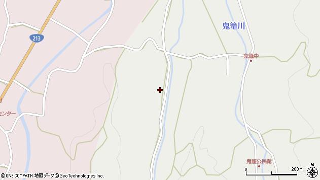 大分県国東市国見町鬼籠80周辺の地図