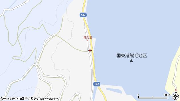 大分県国東市国見町小熊毛2731周辺の地図