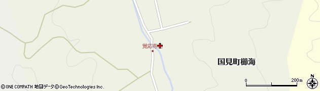 大分県国東市国見町櫛海674周辺の地図