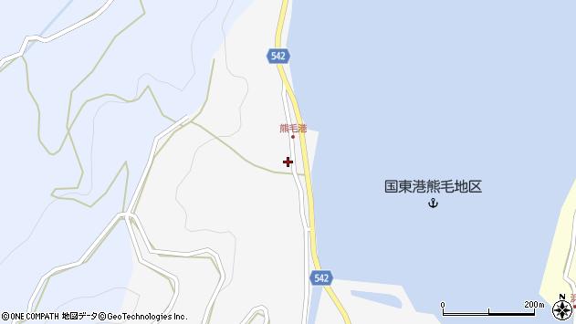 大分県国東市国見町小熊毛2838周辺の地図