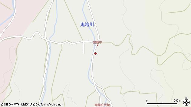 大分県国東市国見町鬼籠1551周辺の地図