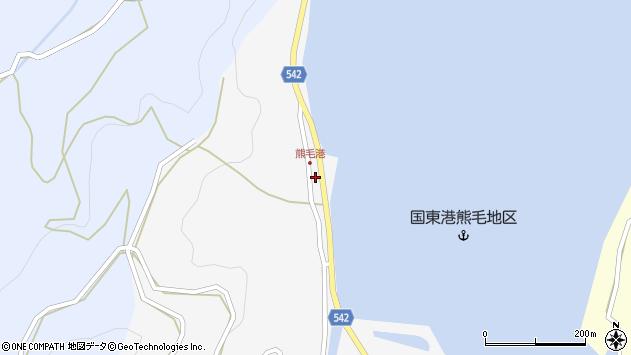 大分県国東市国見町小熊毛2841周辺の地図