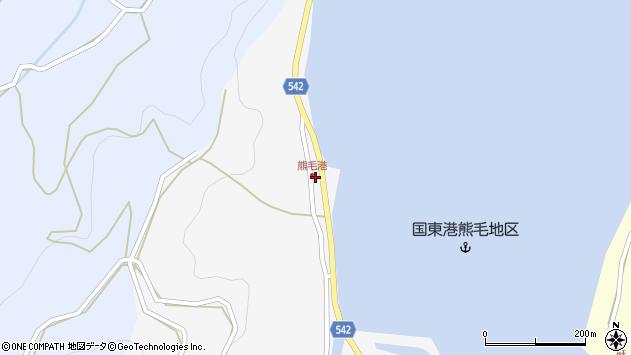 大分県国東市国見町小熊毛2843周辺の地図