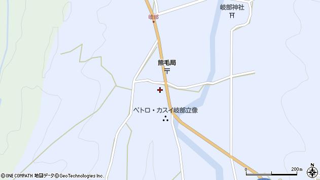 大分県国東市国見町岐部785周辺の地図