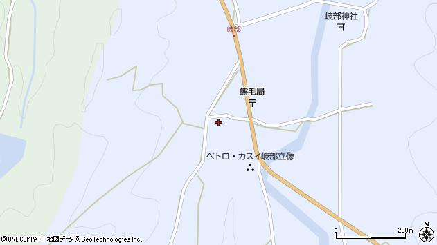 大分県国東市国見町岐部773周辺の地図