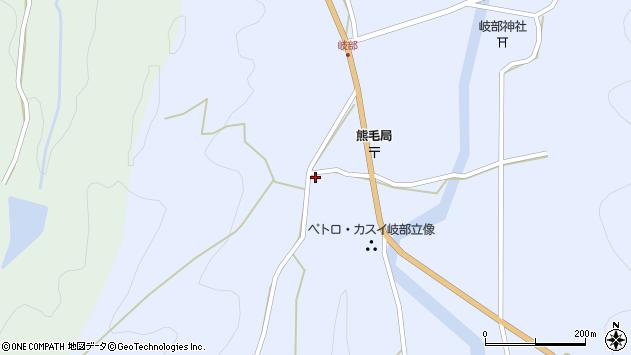 大分県国東市国見町岐部772周辺の地図