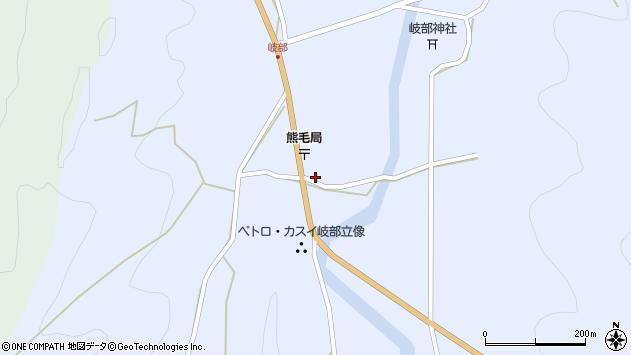 大分県国東市国見町岐部790周辺の地図