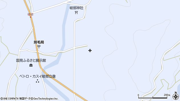 大分県国東市国見町岐部1729周辺の地図