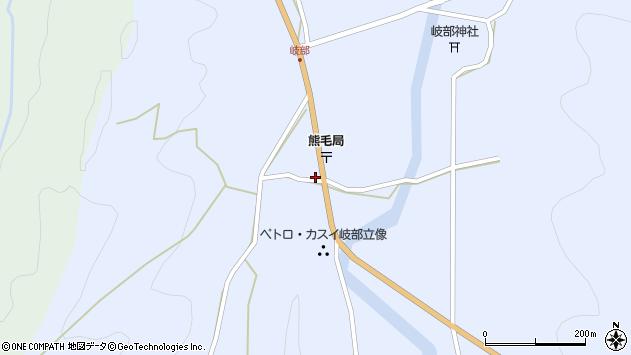 大分県国東市国見町岐部797周辺の地図