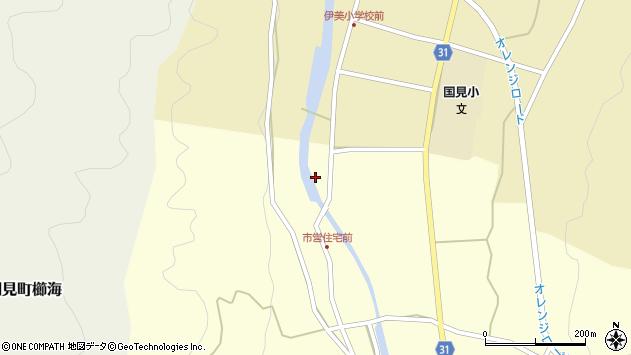 大分県国東市国見町野田3145周辺の地図