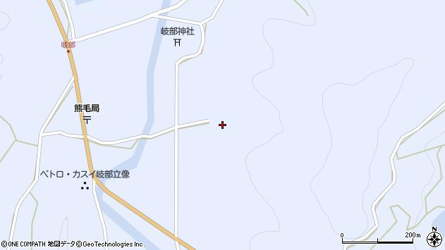 大分県国東市国見町岐部1806周辺の地図