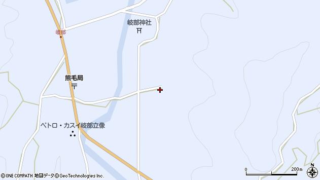 大分県国東市国見町岐部1813周辺の地図