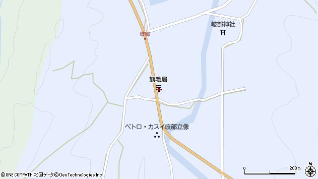 大分県国東市国見町岐部794周辺の地図