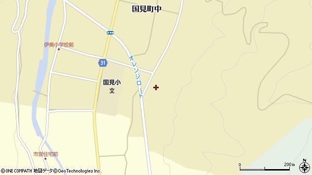 大分県国東市国見町中320周辺の地図