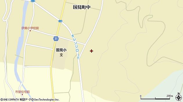大分県国東市国見町中228周辺の地図