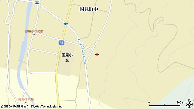 大分県国東市国見町中235周辺の地図