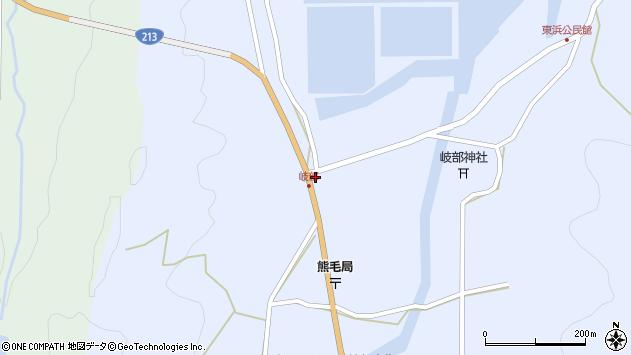 大分県国東市国見町岐部279周辺の地図