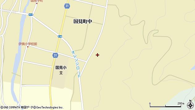 大分県国東市国見町中341周辺の地図