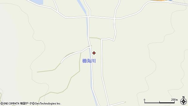 大分県国東市国見町櫛海松原周辺の地図