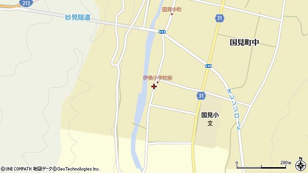 大分県国東市国見町中918周辺の地図
