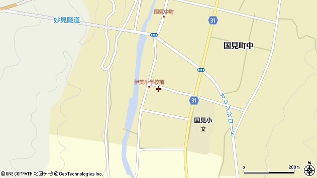 大分県国東市国見町中935周辺の地図