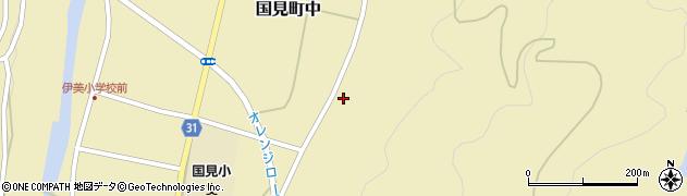 大分県国東市国見町中345周辺の地図