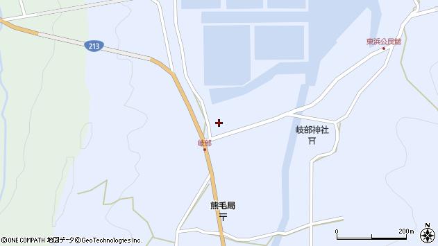大分県国東市国見町岐部267周辺の地図