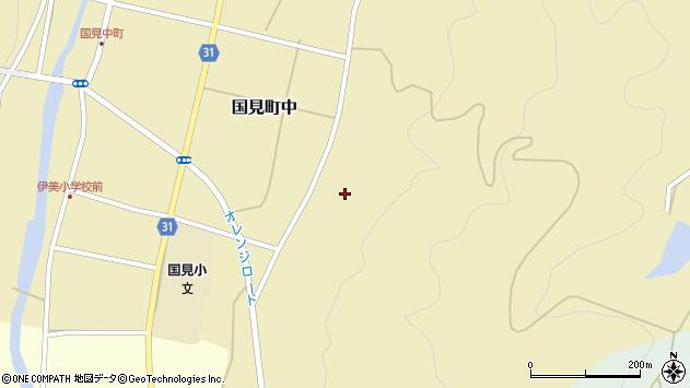 大分県国東市国見町中353周辺の地図