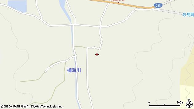 大分県国東市国見町櫛海413周辺の地図