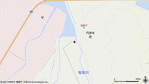 大分県国東市国見町鬼籠427周辺の地図