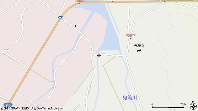 大分県国東市国見町鬼籠422周辺の地図