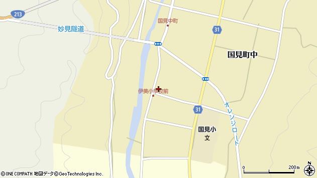 大分県国東市国見町中1000周辺の地図