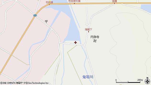 大分県国東市国見町鬼籠423周辺の地図