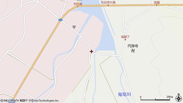 大分県国東市国見町鬼籠7周辺の地図