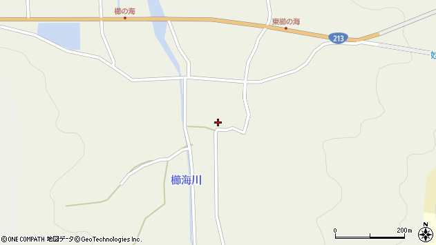 大分県国東市国見町櫛海392周辺の地図