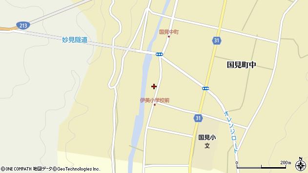 大分県国東市国見町中1006周辺の地図